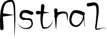 Preview image for Astral Font