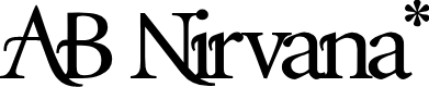 Preview image for AB Nirvana* Font