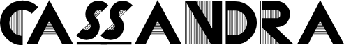 CassandraTwo font