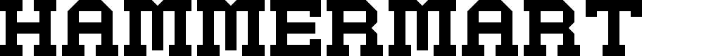 Preview image for Hammermart Regular Font