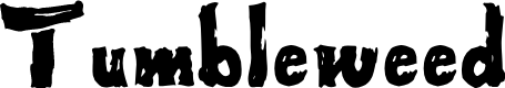 Preview image for Tumbleweed Font