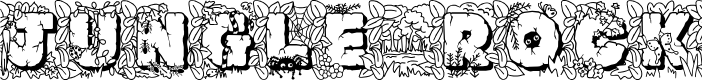 Preview image for JFJungleRock Font