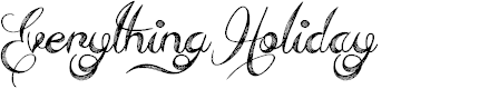 Preview image for Everything Holiday Font