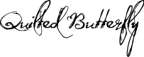 Preview image for QuiltedButterfly Font