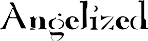 Preview image for Angelized Font