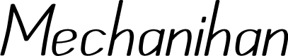 Preview image for Mechanihan Italic