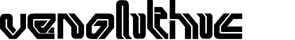Preview image for venolithic Font