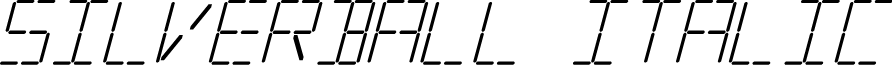 Silverball Italic