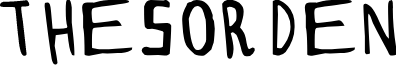 THESORDEN