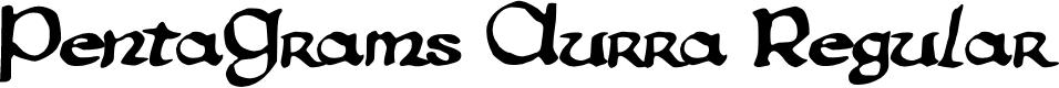 Preview image for PentaGram's Aurra Regular Font