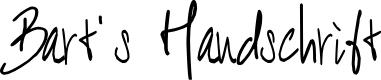 Preview image for BART Handschrift Font