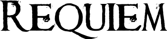 Preview image for Requiem Font