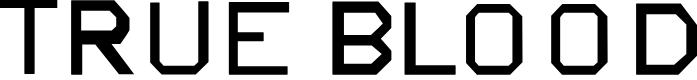 Preview image for TrueBlood Font