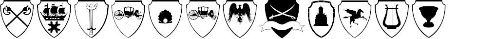 Preview image for EasyHeraldics Font