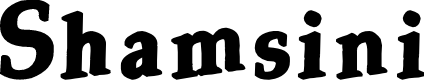 Preview image for Shamsini Font