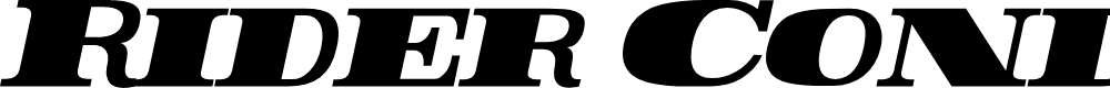 Preview image for Rider Condensed ExtraBlack Italic