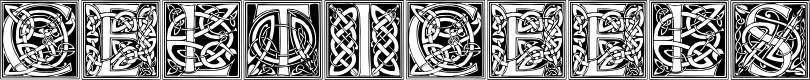 Preview image for CelticEels Font