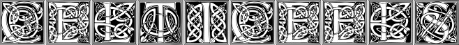 CelticEels font