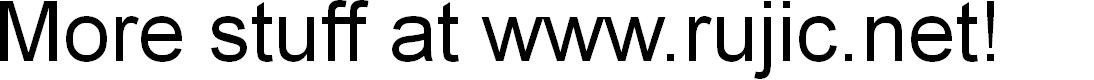 Preview image for Ruji's Handwriting Font