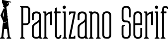Preview image for Partizano-Regular Font
