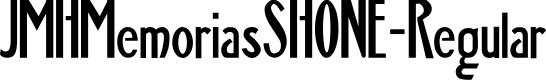 Preview image for JMHMemoriasSHONE-Regular Font