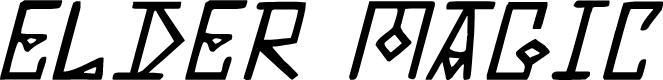 Preview image for Elder Magic Italic