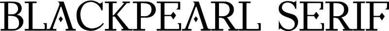 BlackPearl Serif