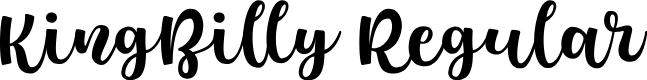 Preview image for KingBilly-Regular Font