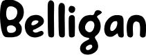 Preview image for Belligan Font