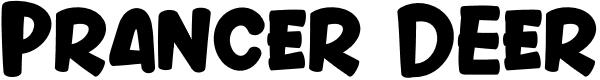 Preview image for Prancer Deer Font