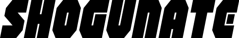 Preview image for Shogunate Italic