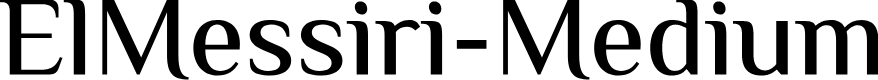 Preview image for ElMessiri-Medium
