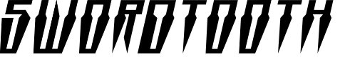 Preview image for Swordtooth Expanded Italic