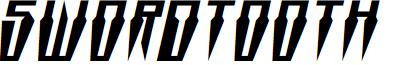 Swordtooth Expanded Italic