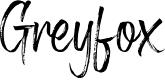 Preview image for Greyfox Regular Font
