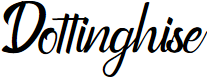 Preview image for Dottinghise Font