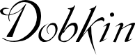 Preview image for Dobkin Plain Font
