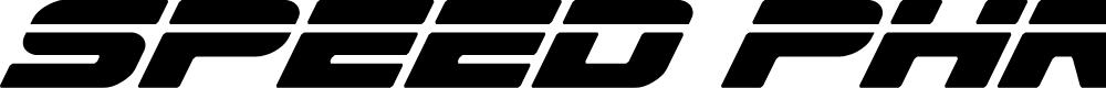 Preview image for Speed Phreak Condensed Italic