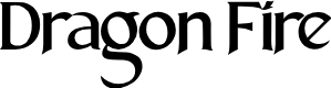 Preview image for Dragon Fire Font