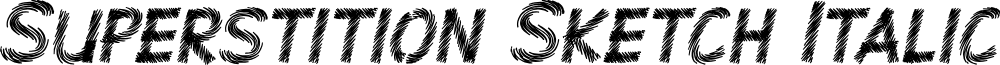 Superstition Sketch Italic-DEMO