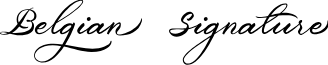 Belgiansignature