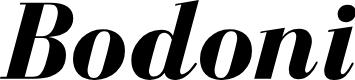 Preview image for BodoniFLF-BoldItalic