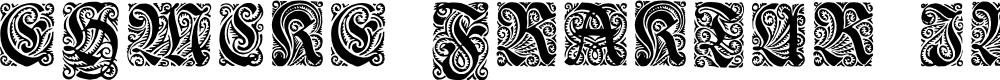 Preview image for Ehmcke-Fraktur Initialen Font
