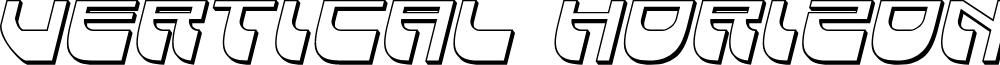 Vertical Horizon 3D Italic