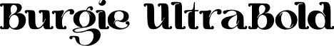 Burgie UltraBold