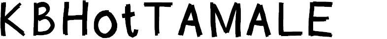 Preview image for KBHotTAMALE Font