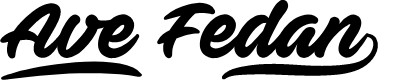 Preview image for Ave Fedan PERSONAL USE ONLY Font