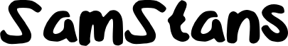 SamStans font