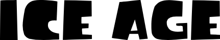 Preview image for Ice Age Movie Font