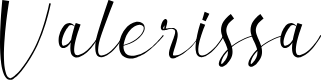 Preview image for Valerissa Personal Use Font